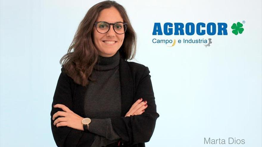 """Marta Dios: """"Los agricultores en esta crisis sanitaria han dado la talla"""""""