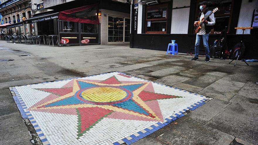 Los mosaicos de A Baldosa serán restaurados por sus propios autores y tendrán códigos QR