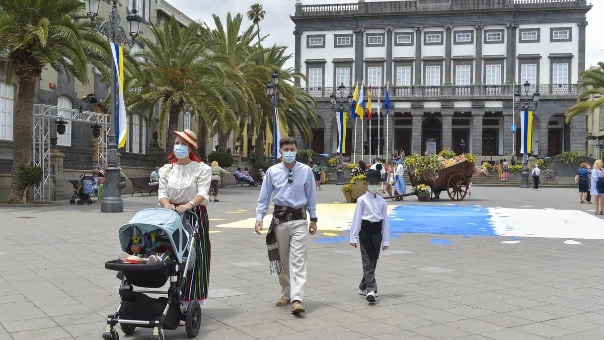 Día de Canarias en Vegueta