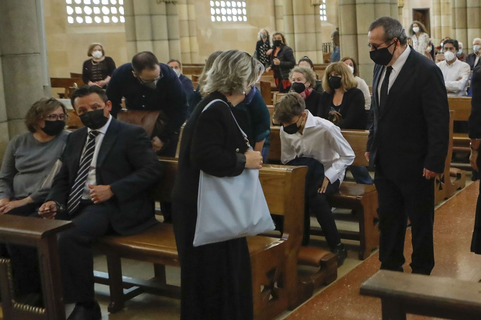 Funeral en San Pedro por Antonio González Colunga