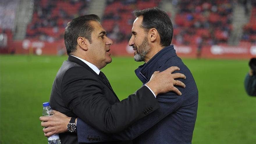 Sandoval, Vicente Moreno y Luis Muñoz