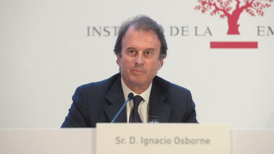 Ignacio Osborne pide a las empresas familiares que asuman el reto de crecer