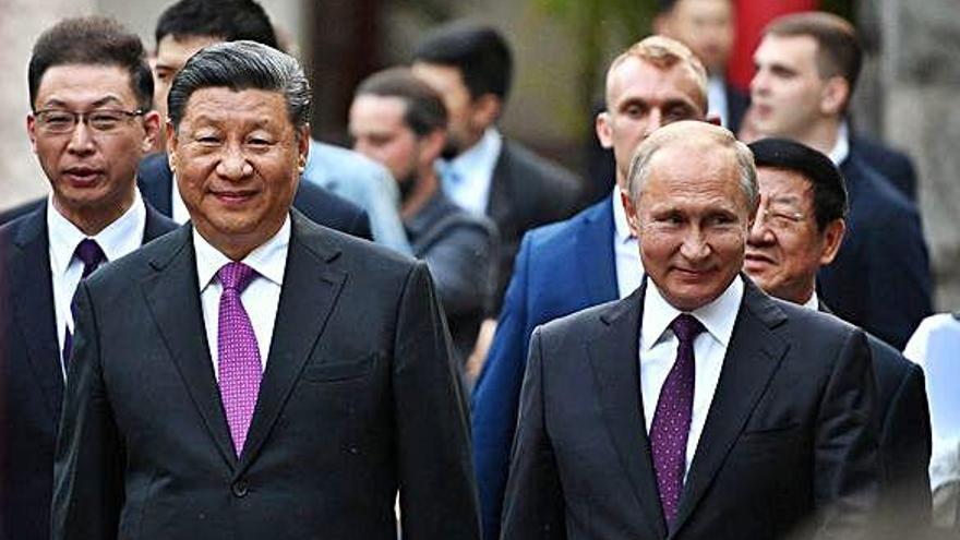 Putin i Xi Jinping reiteren  el rebuig a una intervenció militar a Veneçuela