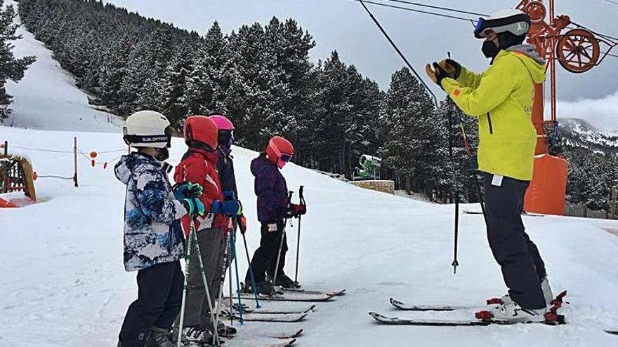 47 alumnes del Solsonès participen enguany en l'Esport Blanc Escolar