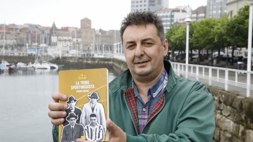 Bernardo de la Puente, el presidente del Sporting rescatado en un libro