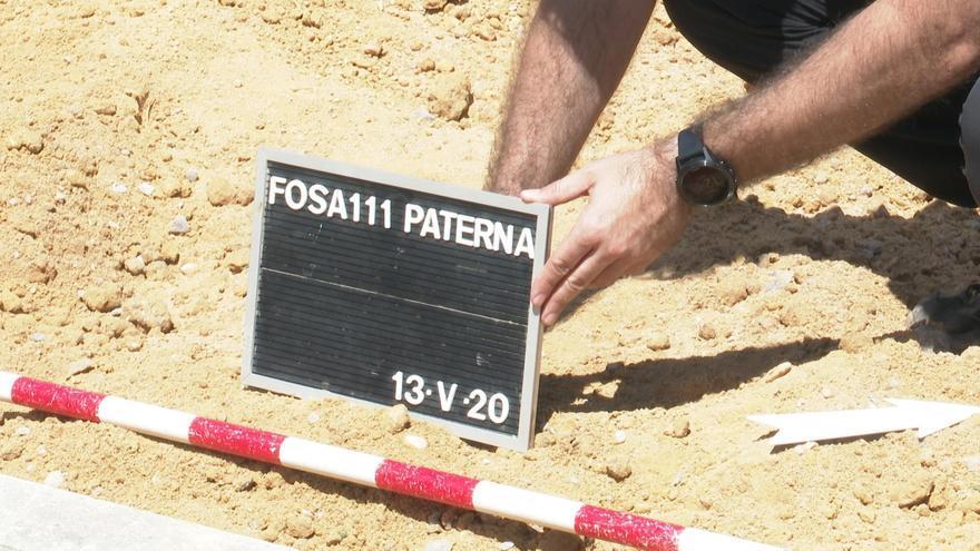 La Generalitat realizará en el cementerio de Paterna la exhumación más numerosa de víctimas del franquismo