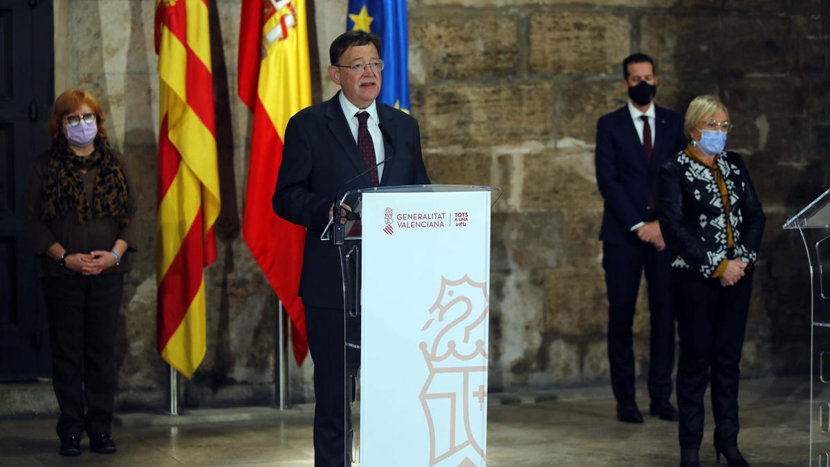 Puig prorroga una semana más el cierre perimetral de la Comunitat Valenciana
