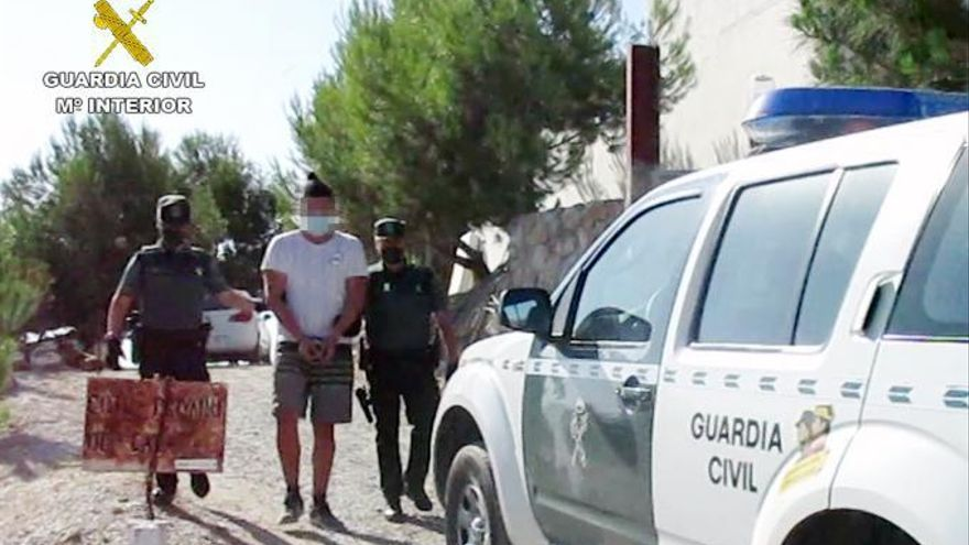 Ocho detenidos por asaltos en varias casas y comercios de San Javier