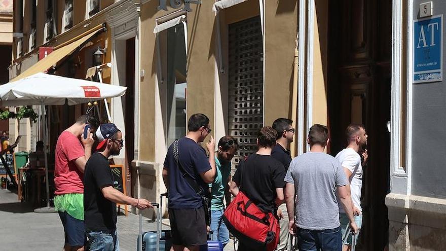La facturación de las viviendas turísticas de Málaga ha caído un 70% este verano