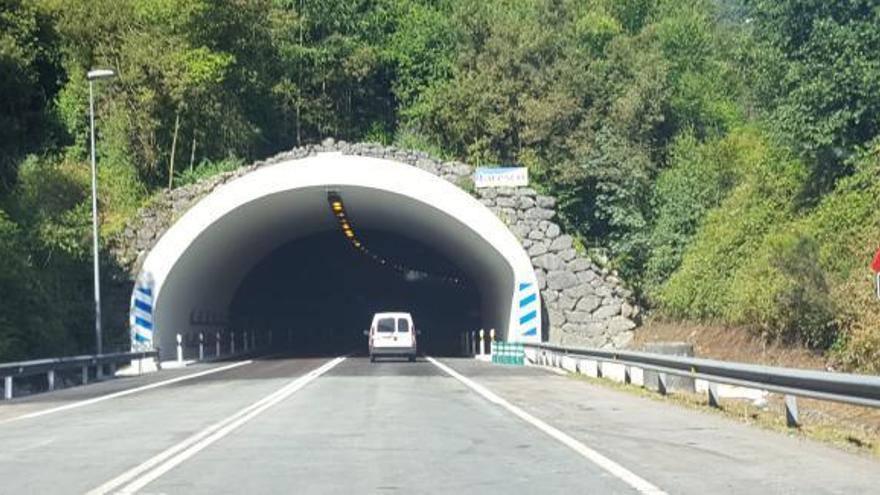 El Corredor del Nalón vuelve a la normalidad tras 6 meses de obras en el túnel de Sotrondio