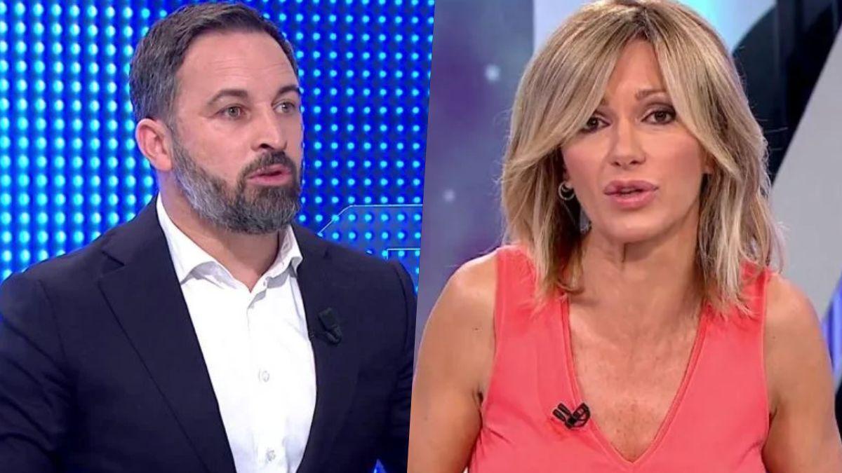 Santiago Abascal y Susanna Griso.