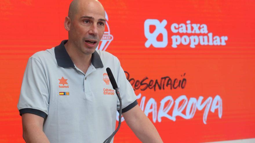 Las primeras decisiones de Joan Peñarroya en el Valencia Basket