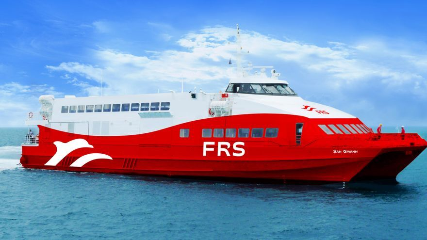 La naviera FRS llega a Baleares con las rutas Alcúdia–Ciutadella e Ibiza-Formentera