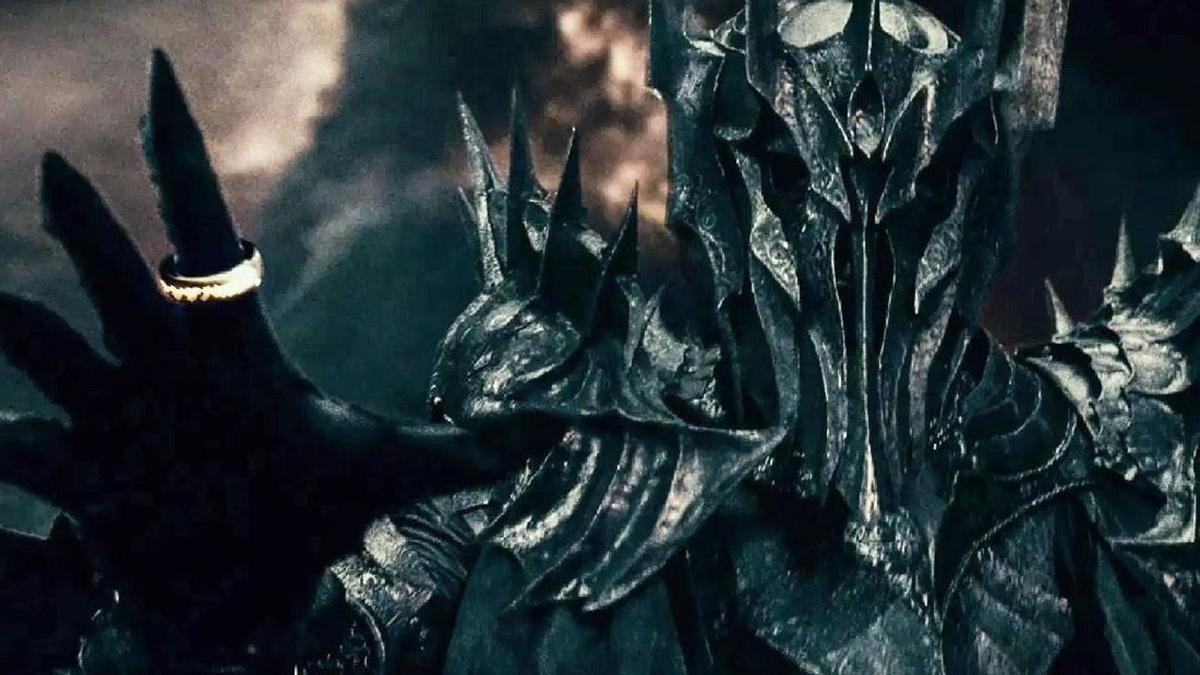 Sauron, el villano de la saga original de 'El Señor de los Anillos'.