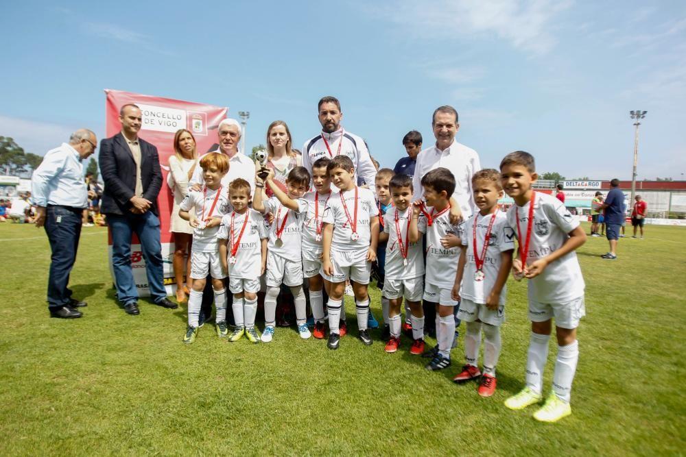 Los de Bouzas y Coia lograron el triunfo en la categoría sub 7 y sub 8 - En 2018 el torneo regresará a Balaídos