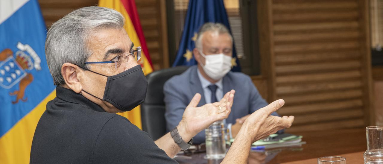 Reactivados los contactos en Madrid