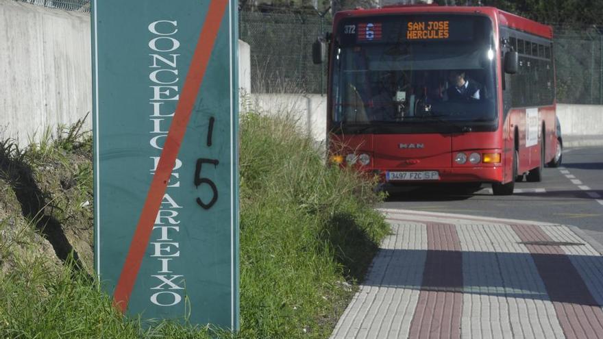 La línea 24 del bus urbano de A Coruña llegará a Culleredo y Arteixo