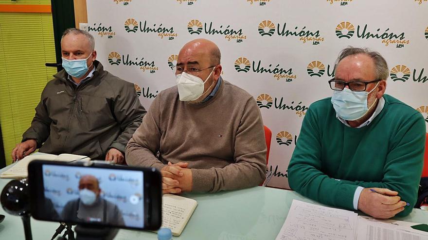 Unións Agrarias reclama que los dueños de terrenos participen en los beneficios de los parques eólicos