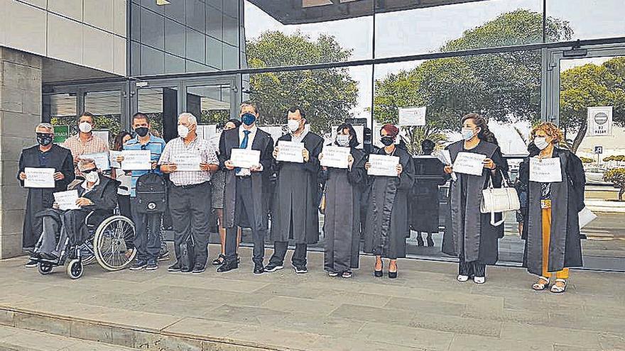Los abogados piden más medios para el turno de oficio