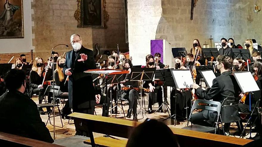 """La Joven Orquesta Sinfónica de Valladolid estrena en Toro """"Oratorio de Navidad"""""""