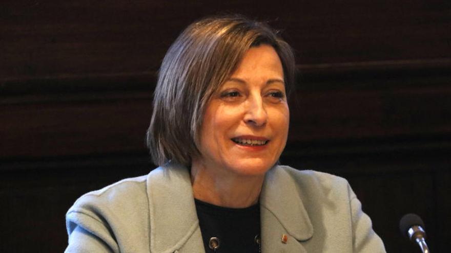 Forcadell va assegurar davant Llarena que no va proclamar «res» el 27 d'octubre