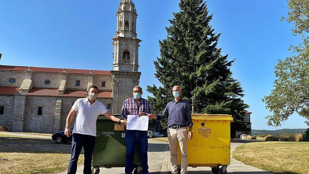 Curtis, Vilasantar y Sobrado, juntos por el medio ambiente
