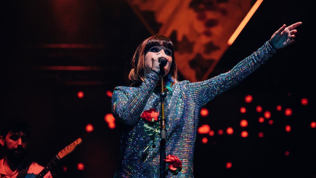 La cantante Rozalén en Luce Benicàssim.