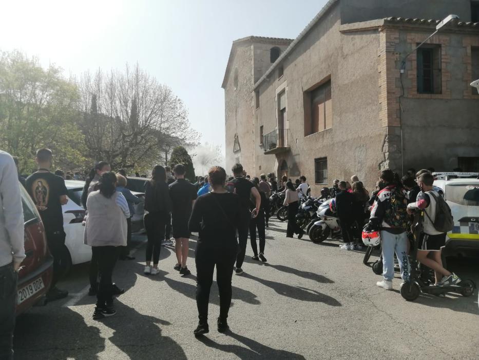 Funeral del jove guardiolenc que va patir un accident el juny de 2020