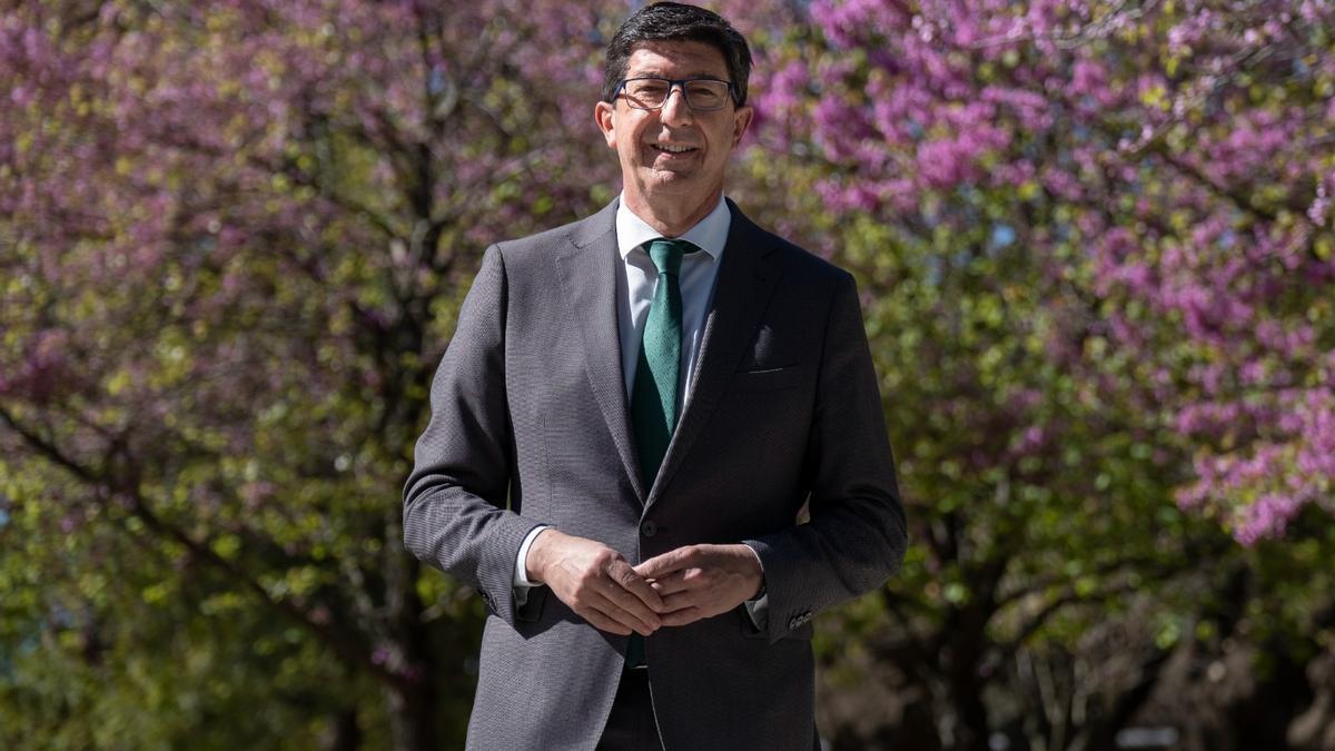 El vicepresidente de la Junta de Andalucía y líder de Cs en la región, Juan Marín.
