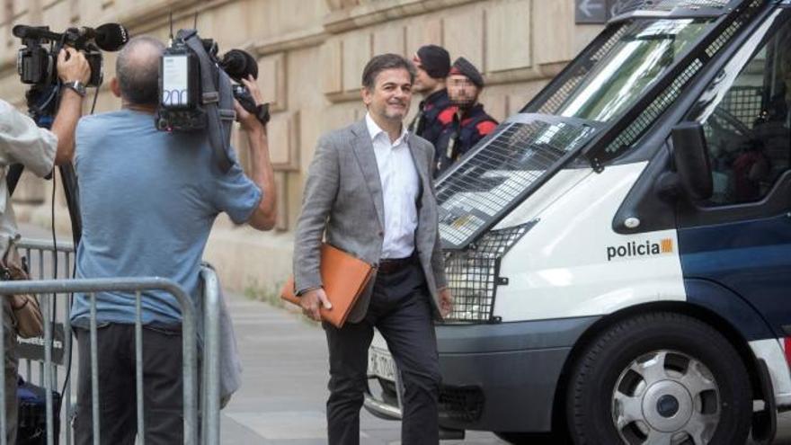 Oriol Pujol acepta ante el juez su condena de dos años y medio de cárcel por las ITV