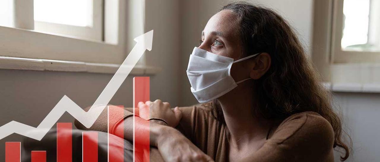 La economía gallega cumula 132.000 bajas laborales tras el impacto del coronavirus