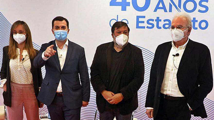 """El PSdeG defiende reformar el Estatuto para evitar que Galicia quede """"rezagada"""""""