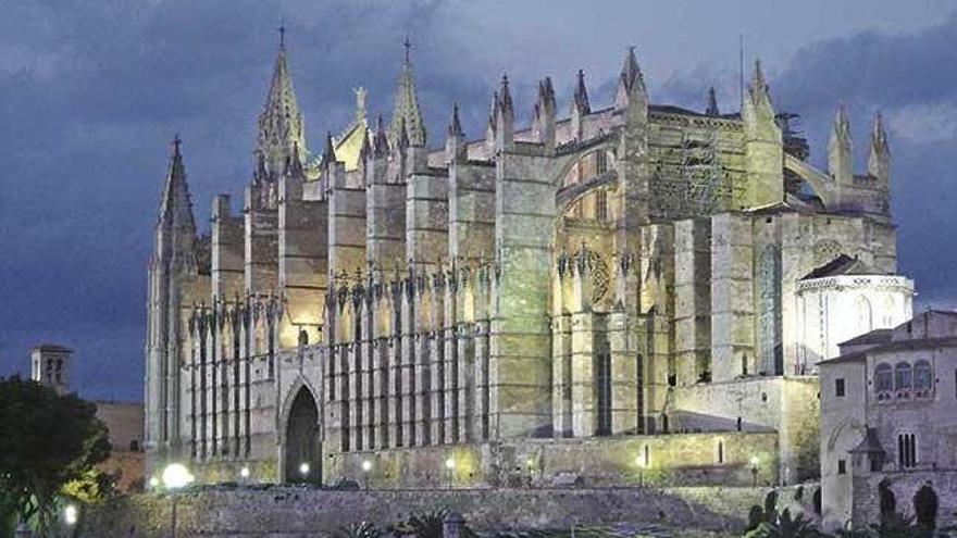 Kathedrale von Mallorca halbes Jahrhundert älter