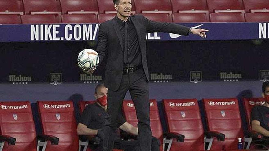 """Simeone: """"Tuvimos ocasiones para marcar más goles"""""""