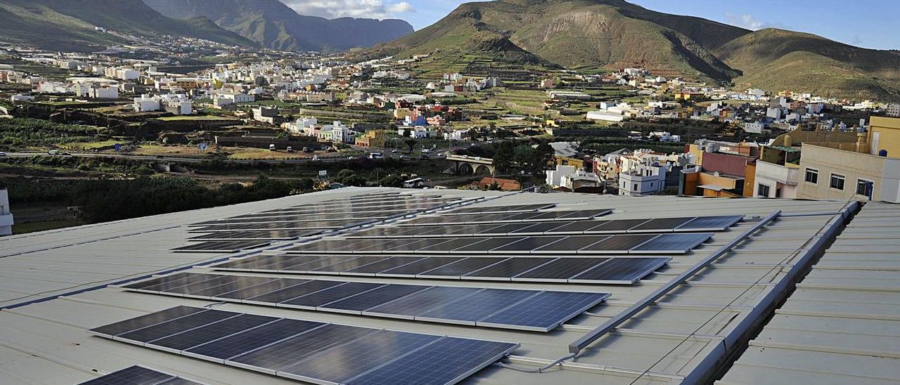 Instalación fotovoltaica en el municipio de Gáldar. | | LP/DLP