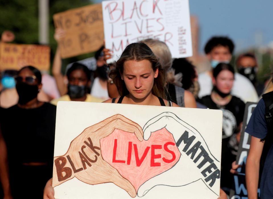 GLOBAL-RACE/USA-PROTESTS