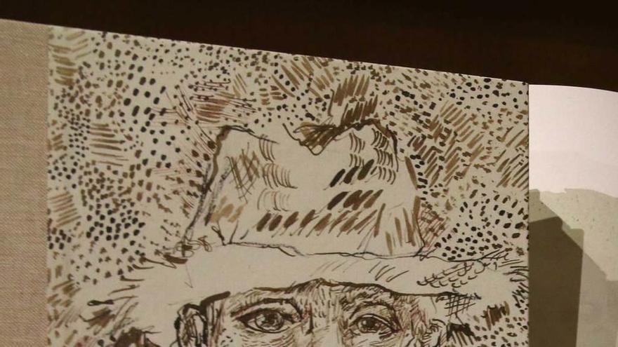Polémico lanzamiento en Francia de un cuaderno inédito atribuido a Van Gogh