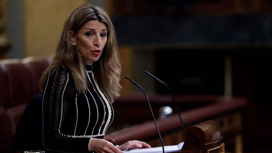Díaz defiende la consolidación de los ERTE como alternativa al despido