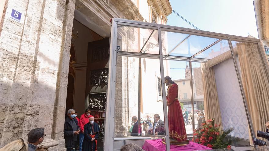 Cristo visita a la Virgen en la Catedral de València