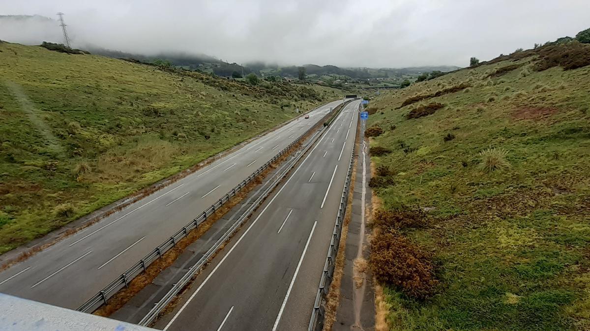 Autovía A64.