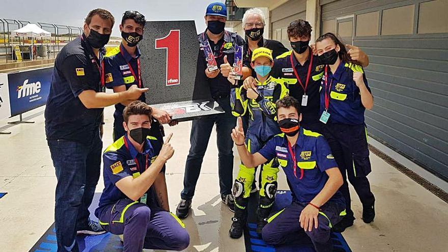 Victòria per a Izan Rodríguez (ETG Racing) a l'Aragó
