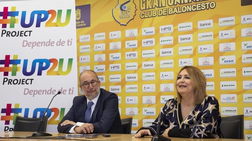 El Gran Canaria renueva su colaboración con el proyecto de apoyo a menores 'Up2U'