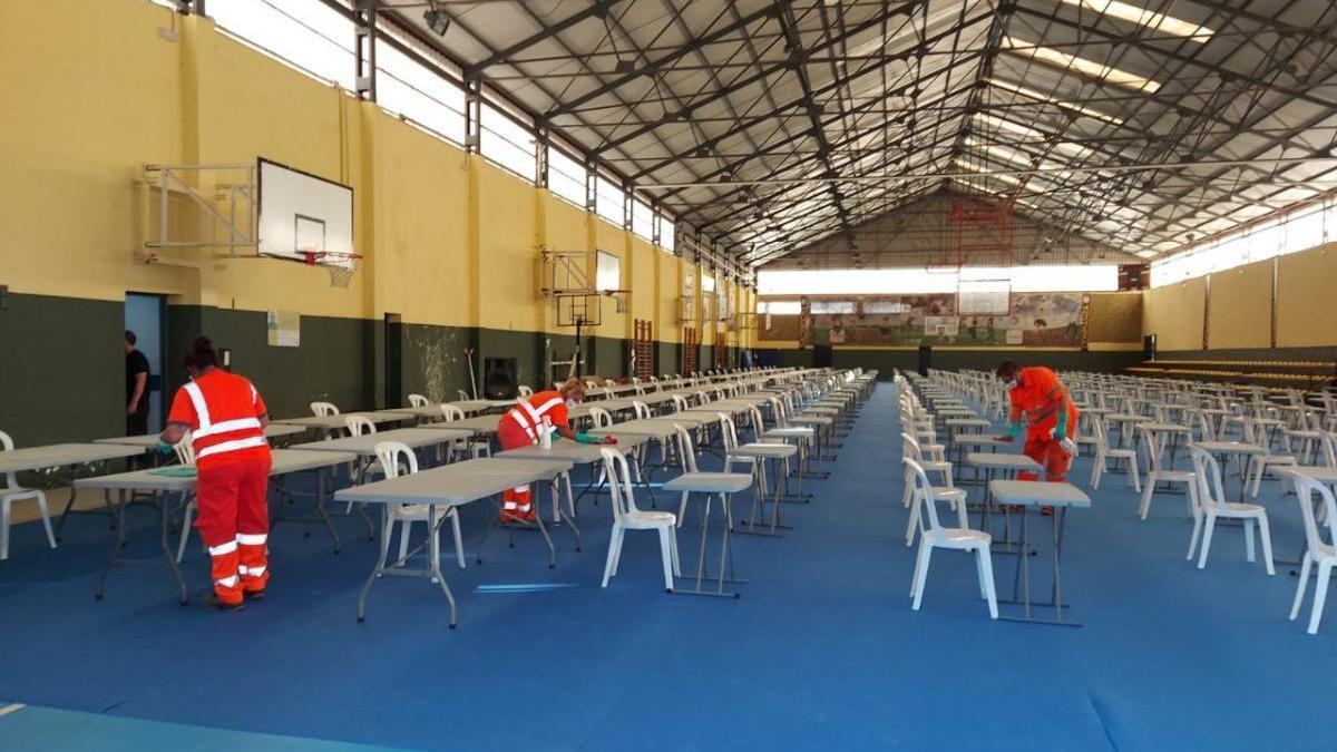 Sadeco ya tiene preparadas las 16 sedes en las que celebrará sus oposicionesel domingo