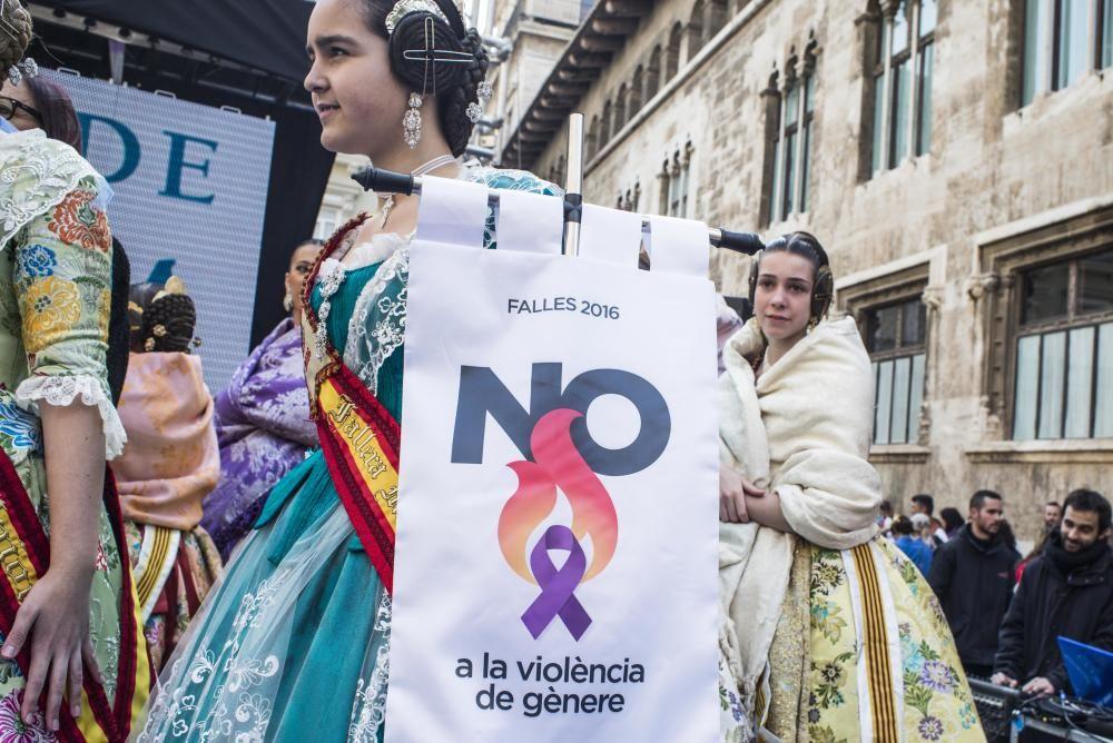 Las fallas en la Diputación contra la violencia machista