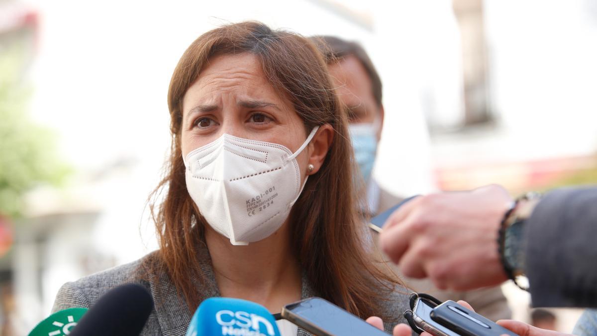 Cristina Casanueva, delegada de Cultura de la Junta, en una imagen de archivo.