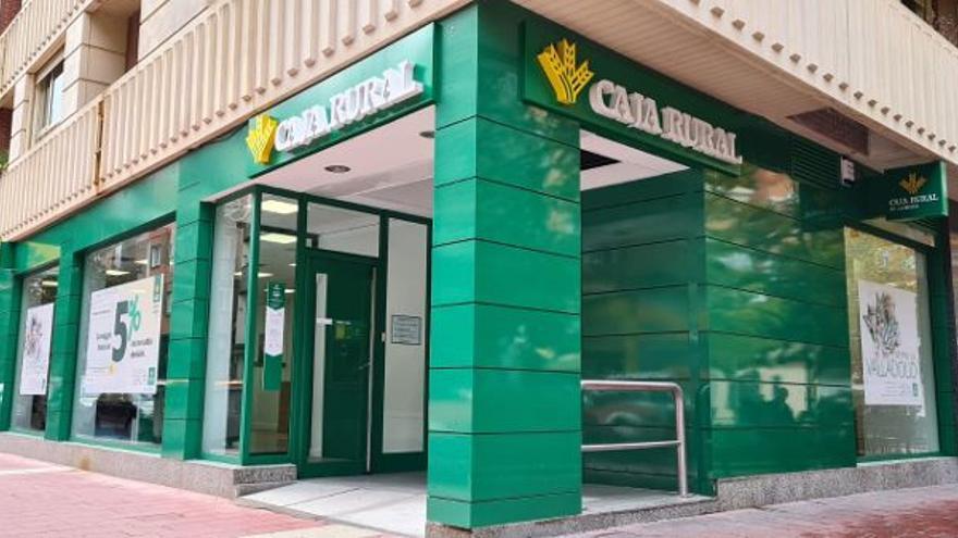 Caja Rural de Zamora traslada su oficina de la avenida de Segovia, en Valladolid