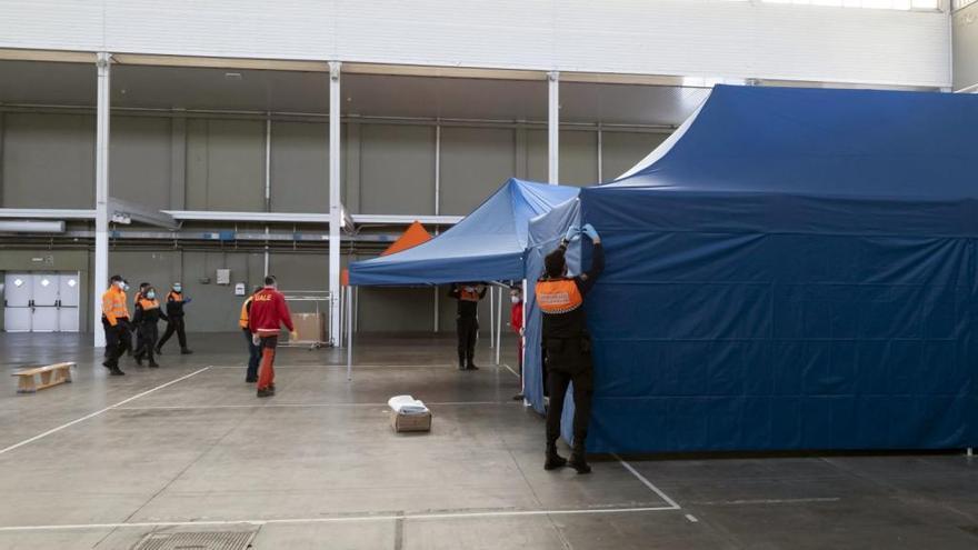 La Feria de Valladolid albergará un hospital de campaña con 200 camas