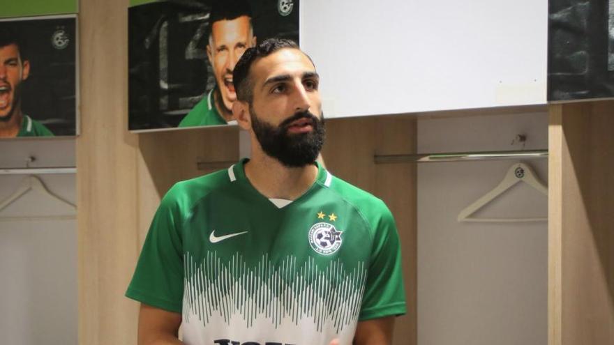 José Rodríguez muestra su enfado con el Málaga CF