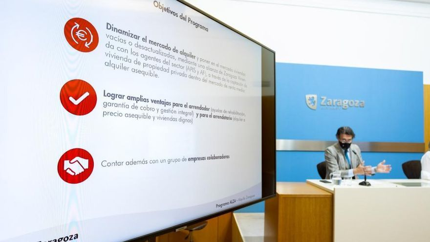 'Alquila Zaragoza' ofrece seguridad a los propietarios que quieran poner su piso en alquiler