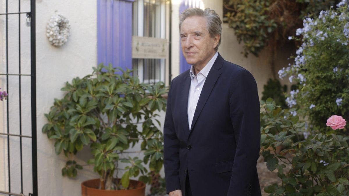 Iñaki Gabilondo, durante la grabación de 'Porvenir'.